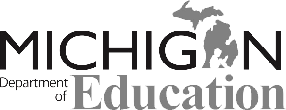 Michigan Department of Education logo